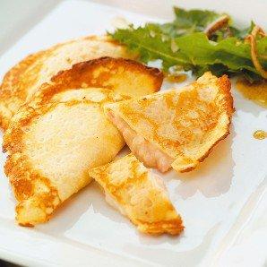 crépe aux jambon ,fromage!!