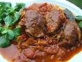 coeur de porc au gimgenbre, curry et créme fraiche