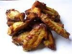 ailerons de poulet marinés et grillés