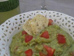 guacamole au citron vert