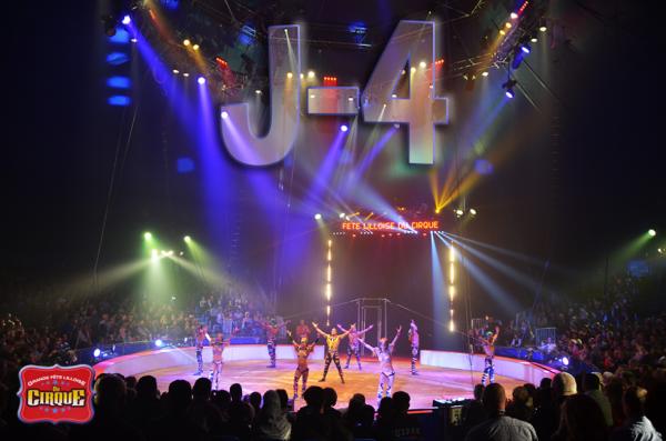 Première de la Grande Fête Lilloise du Cirque dans 4 jours !  30 ça se fête !