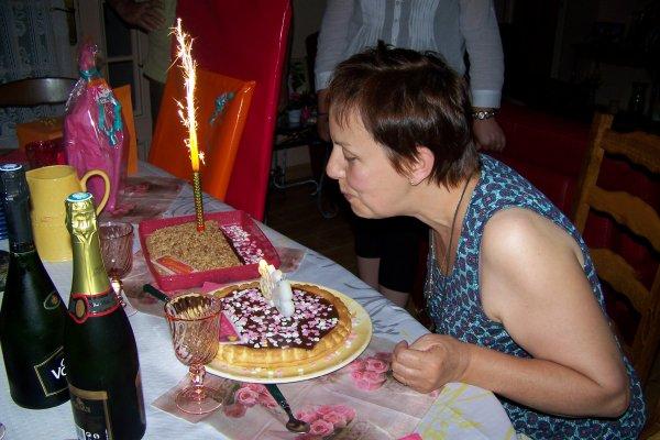 Soirée anniversaire et oui un an de plus beurk