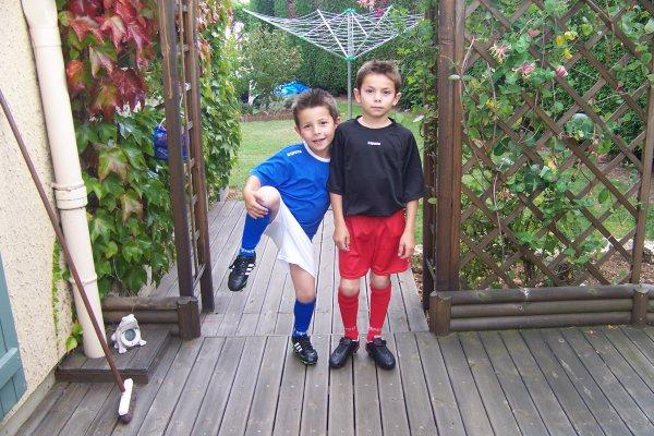 Mes footballeurs