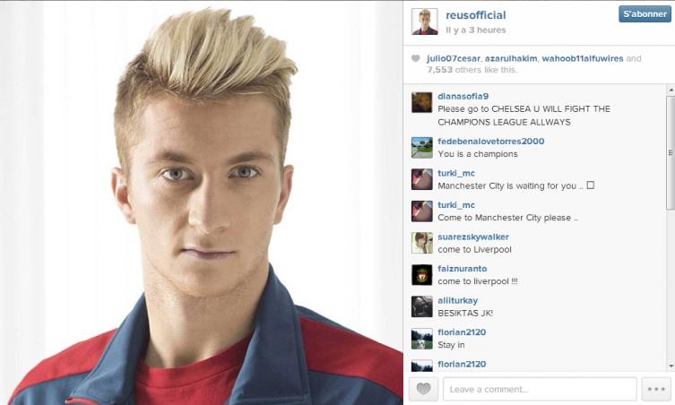 Marco Reus Instagram