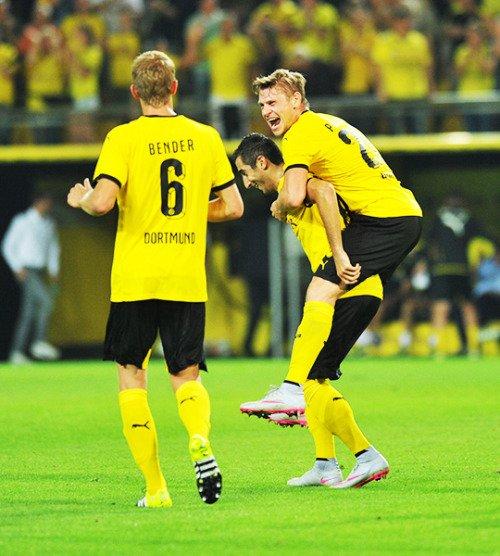 Les joueurs cette semaine (08/08) (Piszczek,Schmelzer,Sahin,Kirch,Leitner,Reus)