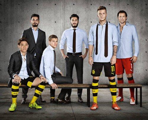 Les joueurs cette semaine (16/09) (Reus,Hummels,Sokratis,Durm,Gundogan,Bender,Sahin,Weidenfeller)