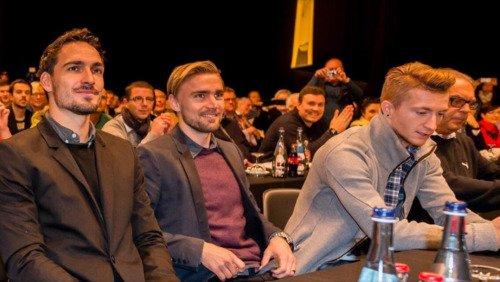 Les joueurs cette semaine (23/11) (Durm,Schmelzer,Hummels,Gundogan,Reus,Mkhitaryan,Januzaj,Sokratis)
