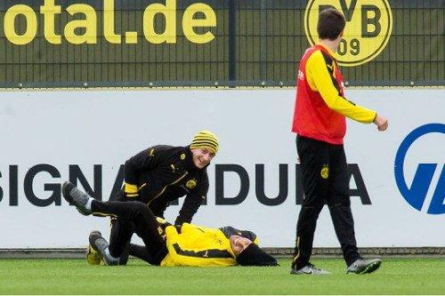 Les joueurs cette semaine (04/12) (Aubameyang,Subotic,Burki,Hummels,Reus,Leitner,Stenzel)