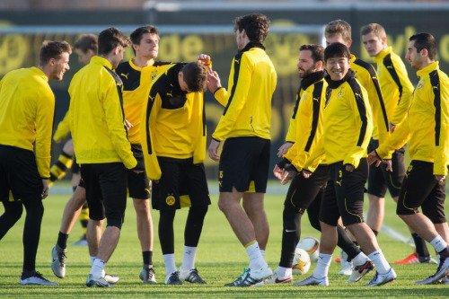 Les joueurs cette semaine (11/12) (Aubameyang,Hummels,Kagawa,Gundogan,Reus,Leitner)