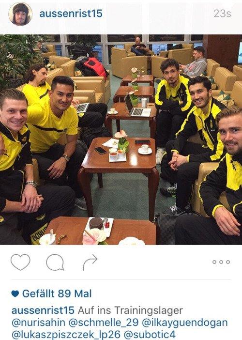 Les joueurs cette semaine (07/01) (Aubameyang,Reus,Leitner,Ginter,Hummels,Gundogan,Castro,Weigl,Burki)