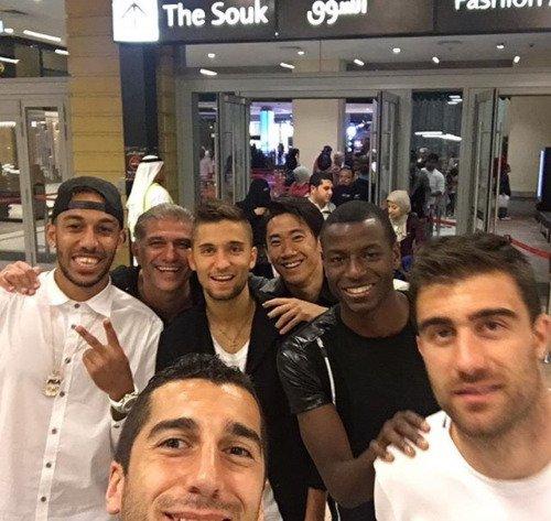 Les joueurs cette semaine (20/01) (Aubameyang,Reus,Sokratis,Ramos,Leitner,Kagawa,Sahin,Piszczek,Mkhitaryan)