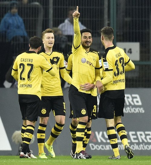 Les joueurs cette semaine (02/02) (Kagawa,Ramos,Reus,Durm,Sokratis,Aubameyang,Hummels,Weigl)
