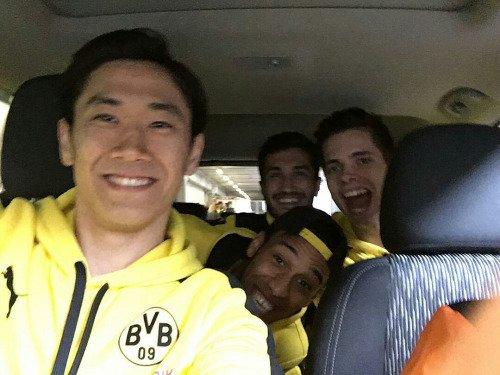 Les joueurs cette semaine (10/05) (Mkhitaryan,Reus,Aubameyang,Durm,Kagawa)