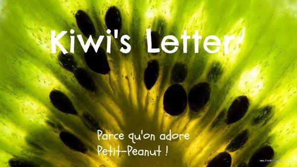 Kiwi's Letter