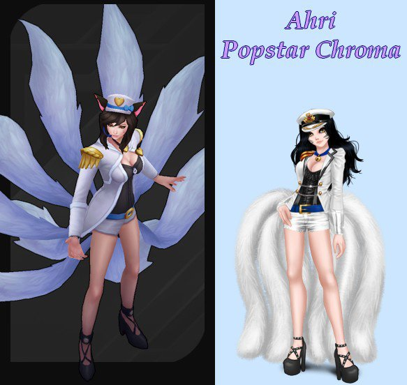 Ahri Popstar Chroma - League of Legends