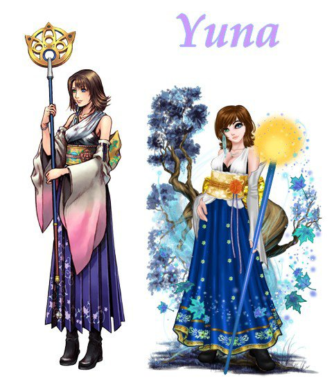 Yuna - Final Fantasy 10
