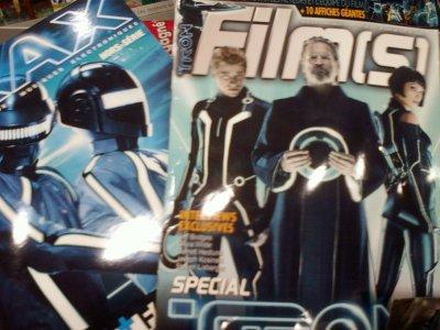 Tron Magazines