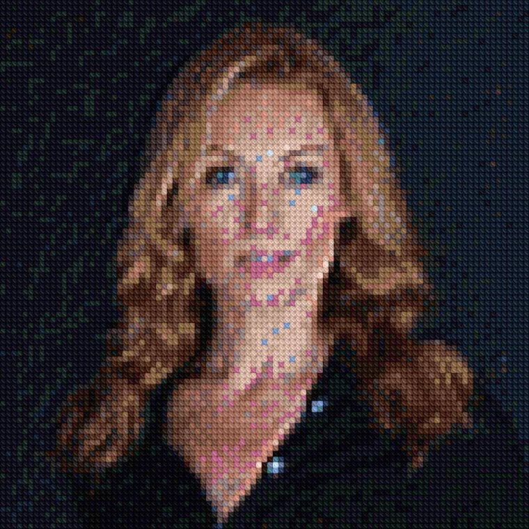 Point de Croix N°2 : Victoria Smurfit