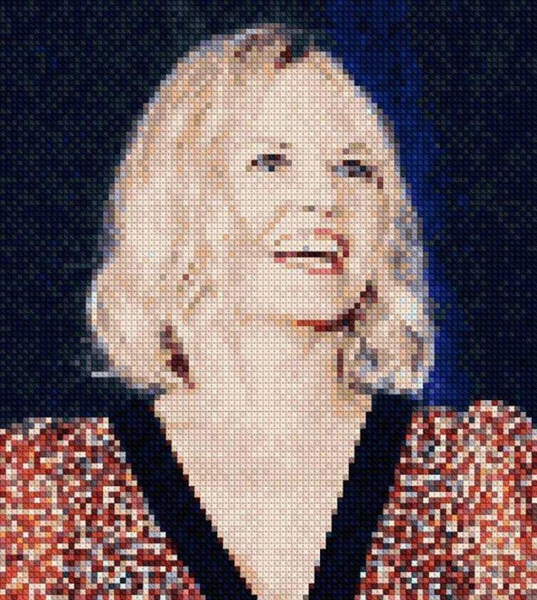 Point De Croix N°8 : Jennifer Morrison