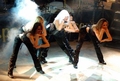 Bénédicte et ses danseuses