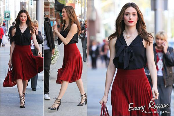 ■ [ Candids ]  Emmy Rossum, Mars 2012