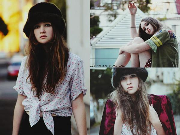 ■ [ PhotoShoot ]  Alice Englert