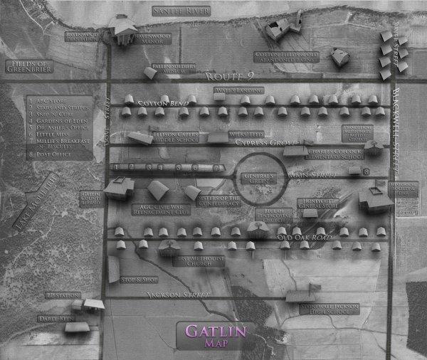 ■ [ L'Univers des Romans ]  La ville de Gatlin