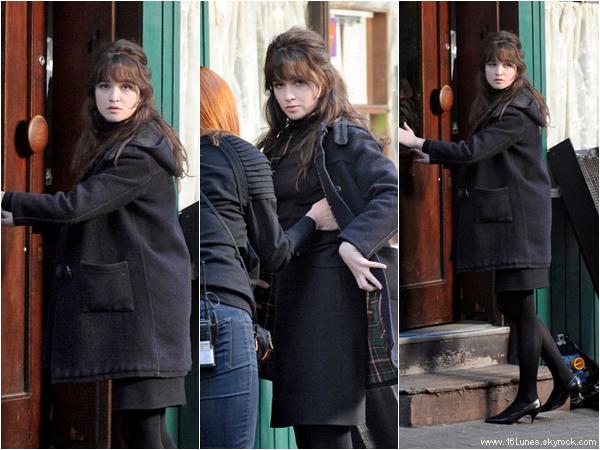 """■ [ News ]  Alice, sur le Tournage du film """"Bomb"""""""