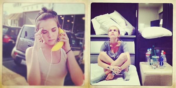 ■ [ Twitter ]  Nouvelles photos d'Emmy & Zoey