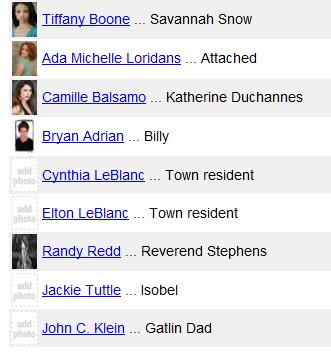 ■ [ Casting ]  De nouveaux acteurs annoncés