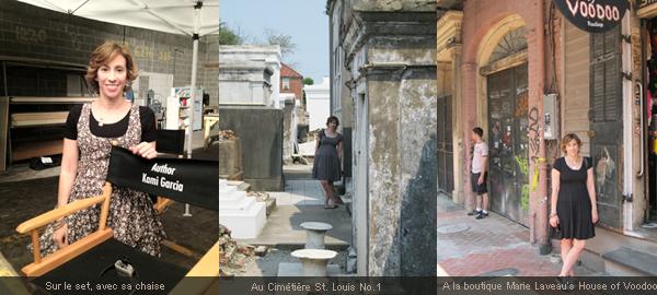 ■ [ Kami Garcia ]  Photos souvenir de son passage à Nola