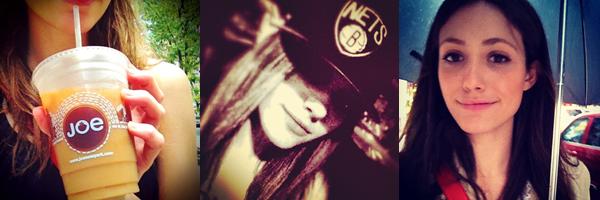 ■ [ Emmy Rossum ]  Dernières photos postées