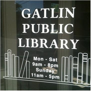 ■ [ Tournage ]  Une Photo de la Gatlin Library !
