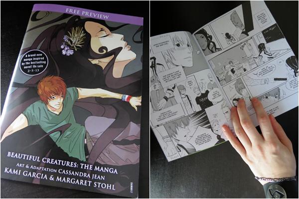 ■ [ Beautiful Creatures Graphic Novel ]  Version papier des deux premiers chapitres !