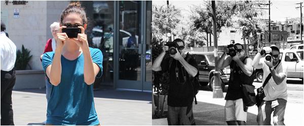 ■ [ Emmy Rossum ]  PaparazziGirl VS Paparazzis