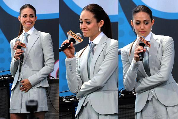 ■ [ Comic-Con 2012 ]  Emmy Rossum au Comic-Con pour Shameless