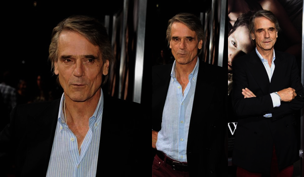 "■ [ Jeremy Irons ]  Avant-première de ""The Words"""