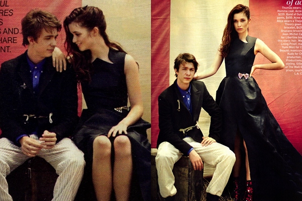 ■ [ Photoshoot ]  Thomas & Alice pour Teen Vogue