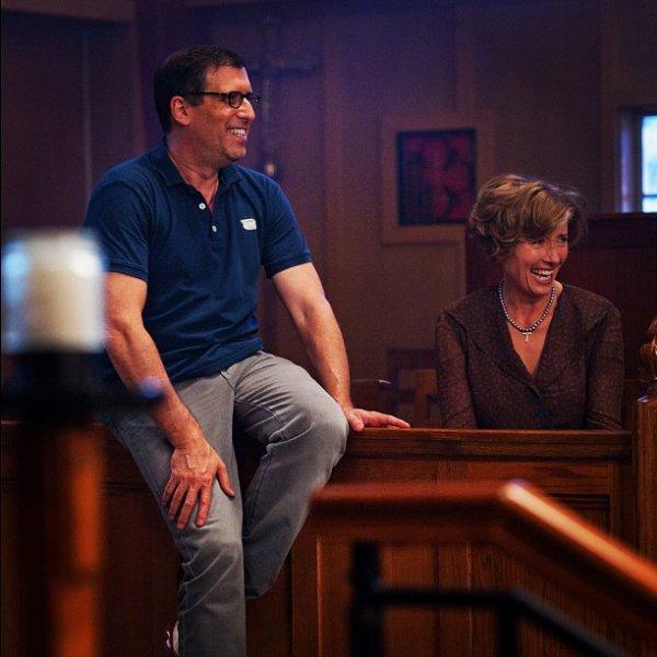 ■ [ Film ]  Richard LaGravenese & Emma Thompson sur le tournage