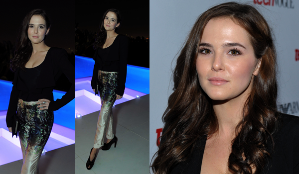 ■ [ Zoey Deutch ]  Teen Vogue's 10th Anniversary Young Hollywood Party
