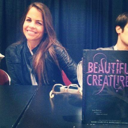 ■ [ Margaret Stohl ]  Au New York Comic Con
