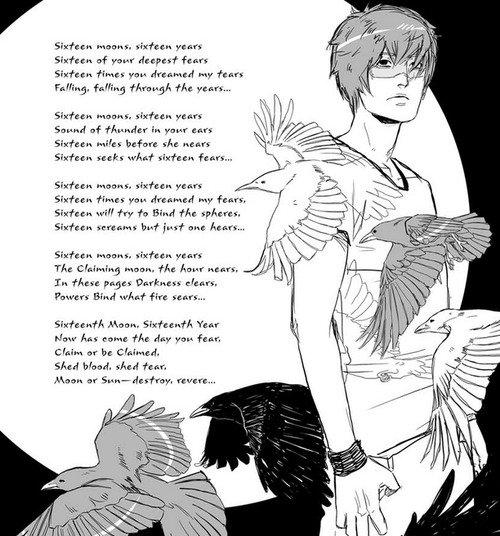 ■ [ Beautiful Creatures Graphic Novel ]  Nouvelle image d'Ethan avec la chanson Seize Lunes