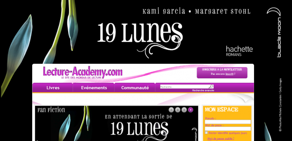 ■ [ 19 Lunes ]  Lecture Academy se met aux couleurs de 19 Lunes
