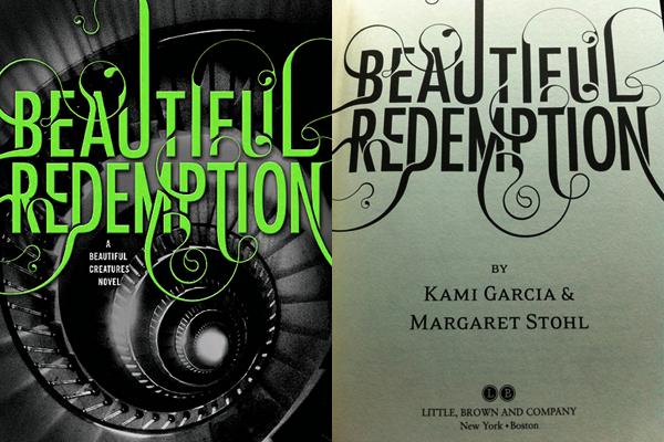■ [ Romans ]  Beautiful Redemption sort aujourd'hui dans les pays anglophones !