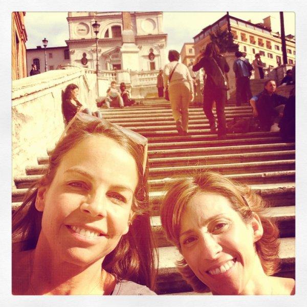 ■ [ Margaret & Kami ]  Les auteurs de notre saga préférée sont en Italie !
