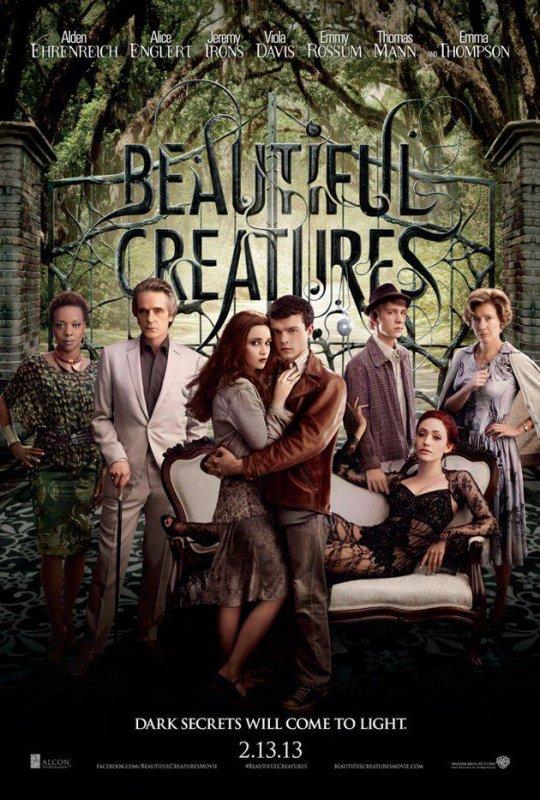 ■ [ Sublimes Créatures ]  Une Nouvelle Affiche du film !Avec Ethan, Lena, Ridley, Link, Macon, Amma et Mrs Lincoln !