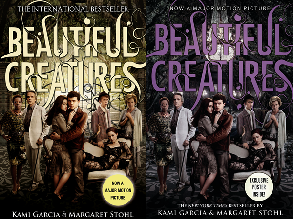 ■ [ Beautiful Creatures ]  Couvertures du roman avec l'affiche du film