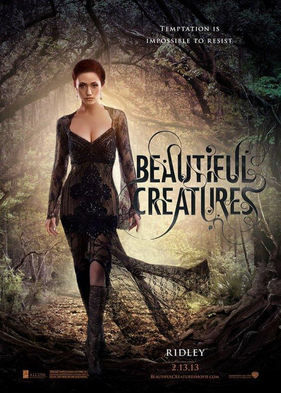 ■ [ Sublimes Créatures ]  Affiche Individuelle - Ridley Duchannes -