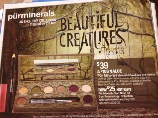 ■ [ Sublimes Créatures ]  La palette maquillage