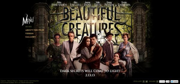 ■ [ Sublimes Créatures ]  Le site officiel du film actualisé